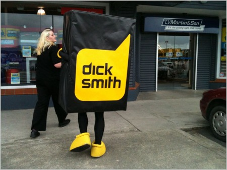Dick Smith Electronics sale Woolworths blog